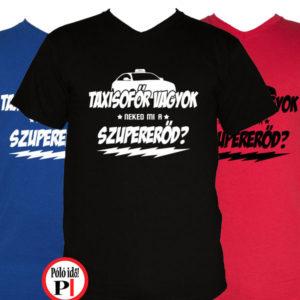 taxi póló szupererő