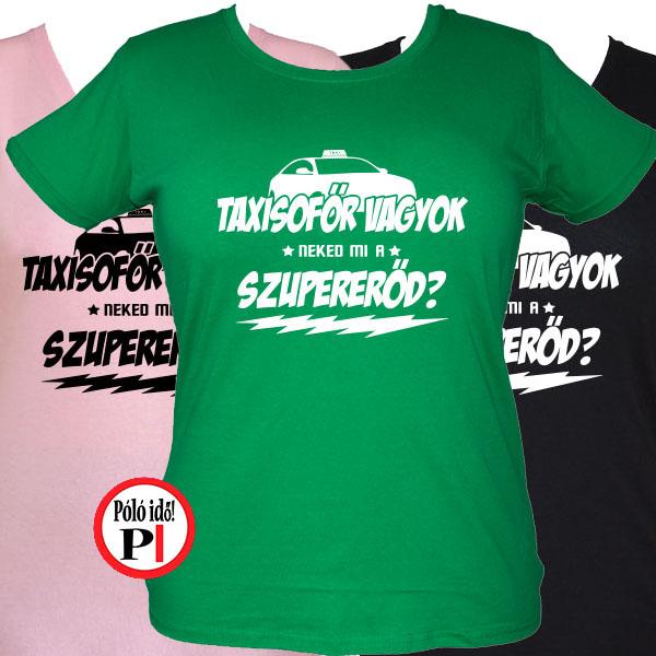 taxi póló szupererő női