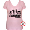 taxi póló taxi evolúció női pink