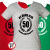vicces póló örök ifjú 50 női
