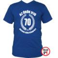 vicces póló örök ifjú 70 kék