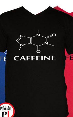 kávé póló caffeine