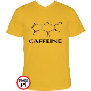kávé póló caffeine citrom