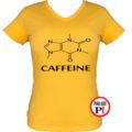 kávé póló caffeine női citrom