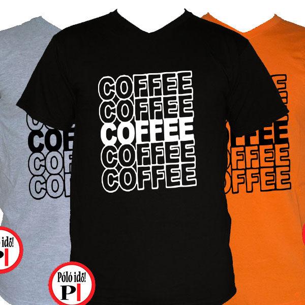 kávé póló coffee