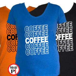 kávé póló coffee női