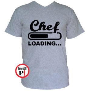 szakács póló loading szürke