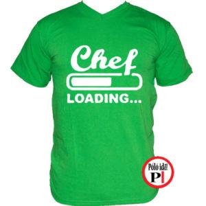 szakács póló loading zöld