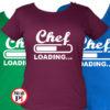 szakács póló loading női