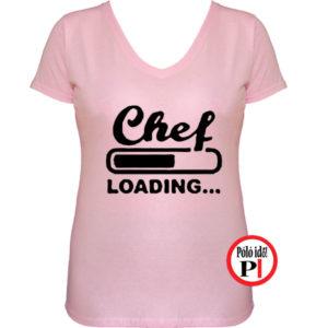 szakács póló loading pink