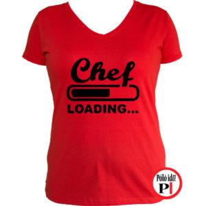 szakács póló loading piros