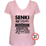 targoncás póló tökéletes női pink