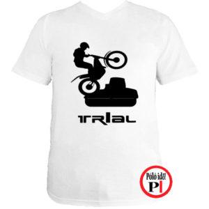 trail póló trialer fehér