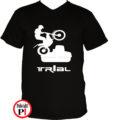 trail póló trialer fekete