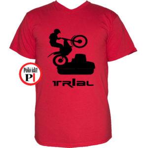 trail póló trialer piros