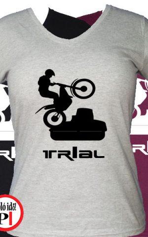trail póló trialer női
