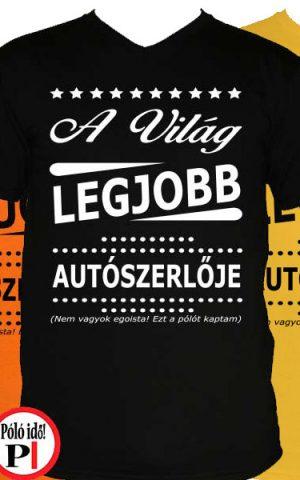 ajándék autószerelő póló