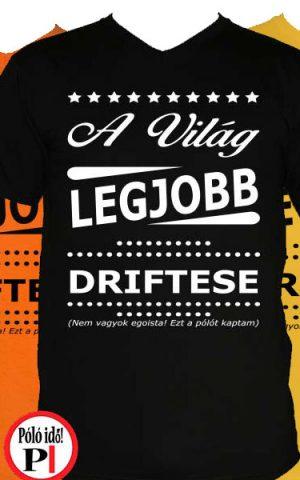 ajándék drift póló