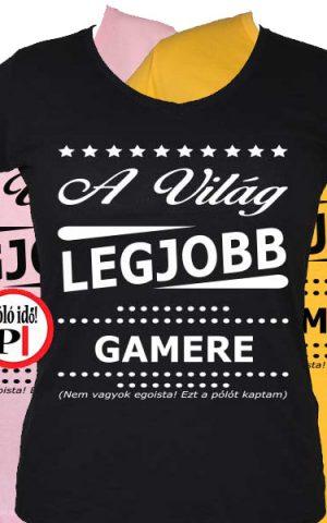 ajándék gamer póló női