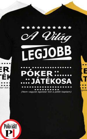 ajándék póker póló