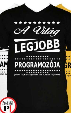 ajándék programozó póló