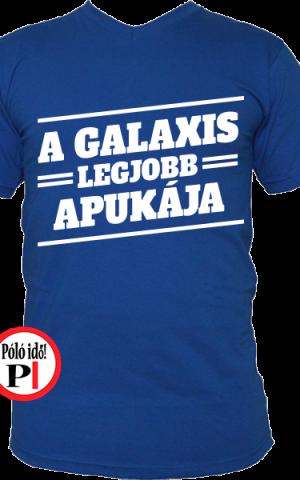 apa póló galaxis legjobb apukája