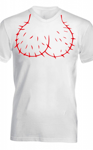 faszfej póló fehér