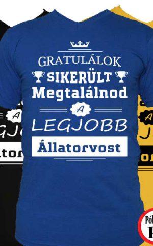 gratulálok állatorvos póló