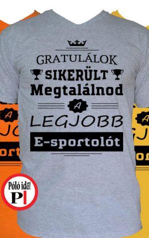 gratulálok e-sport póló