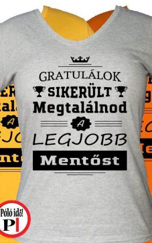 gratulálok mentős póló női