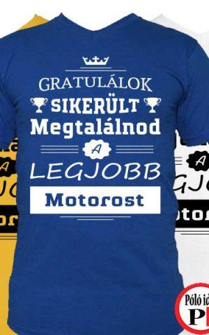 gratulálok motoros póló