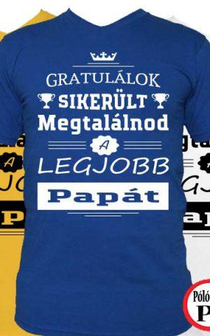 gratulálok nagypapa póló