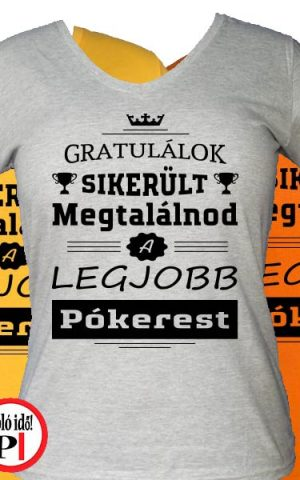 gratulálok póker póló női
