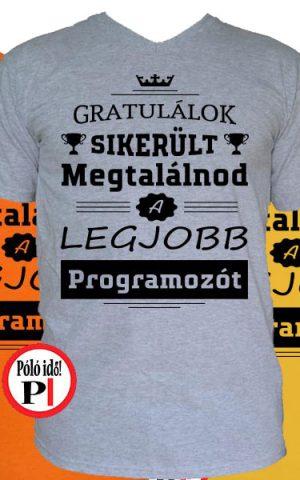 gratulálok programozó póló