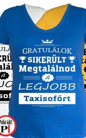 gratulálok taxi póló női