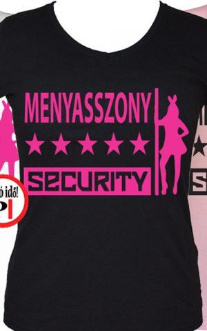 lánybúcsú póló security