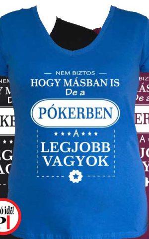 mások között pókeres női póló