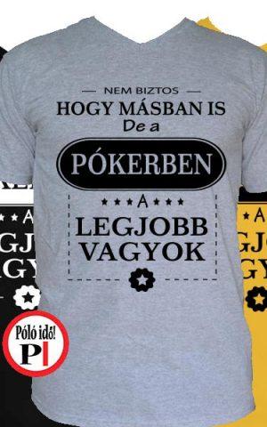 mások közt póker póló