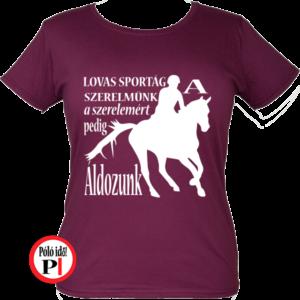 lovas póló lovas szerelem