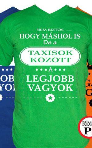 mások között taxis póló