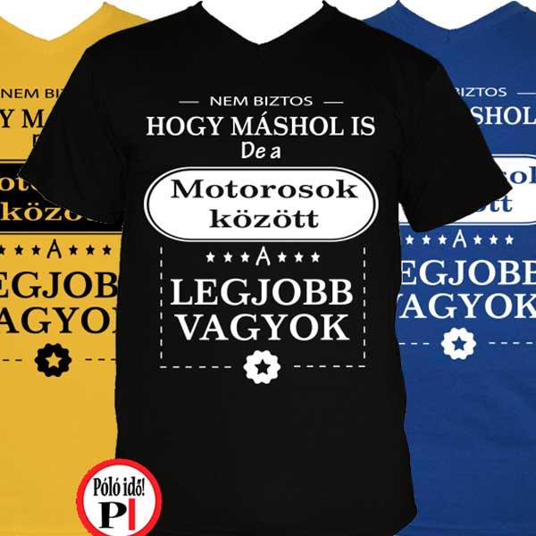Mások között motoros póló