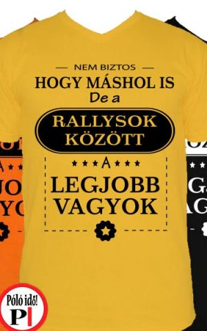 másban is rallys póló