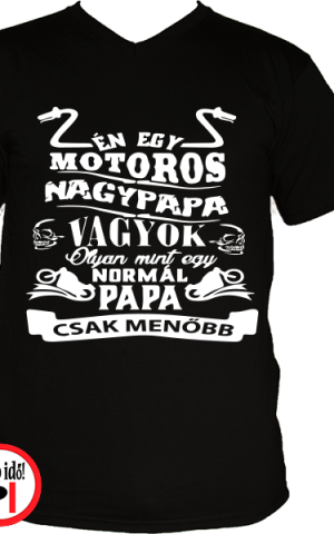 motoros póló családi póló