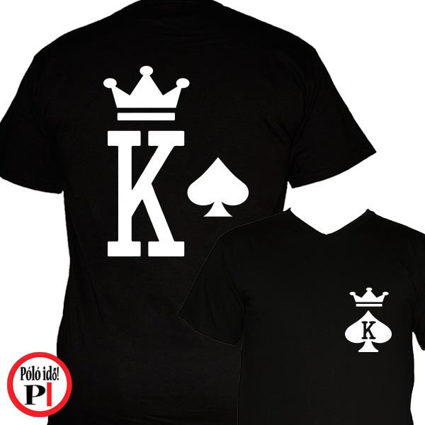 páros pólók póker férfi