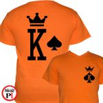 páros pólók póker narancs
