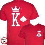 páros pólók póker piros