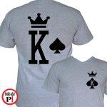 páros pólók póker szürke