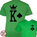 páros pólók póker zöld