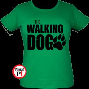 walking dog kutyás póló