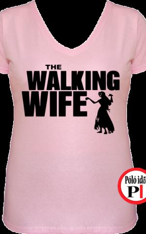 zombi feleség póló walking dead